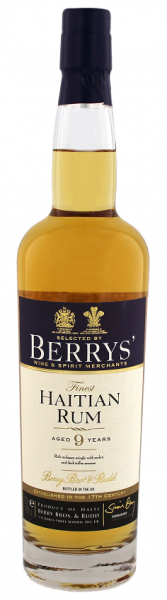 Berry´s Own Finest Haiti 9YO Rum 2004 0,7 Liter