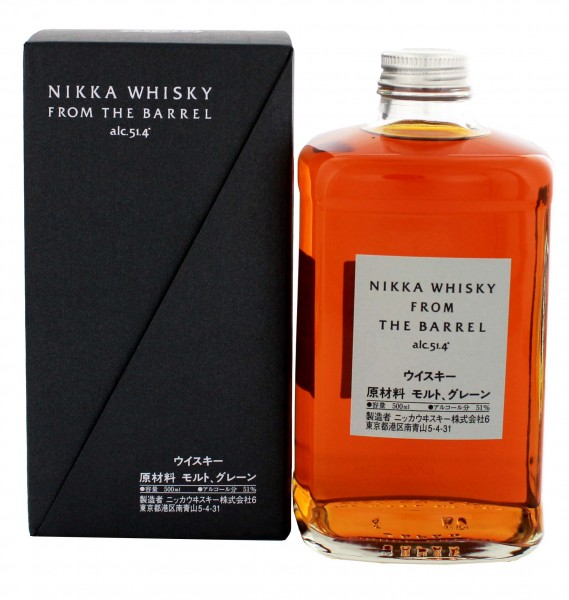Nikka From The Barrel Whisky 0,5 Liter 51,4%