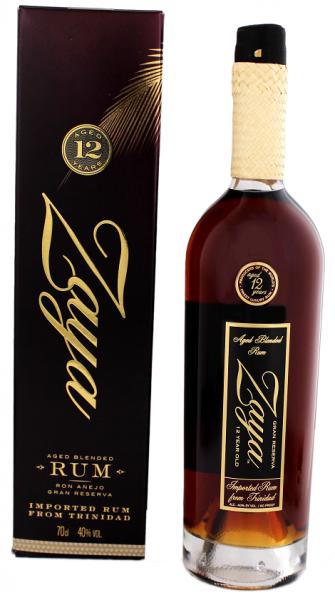 Zaya 12YO Gran Reserva Rum 0,7 Liter 40%