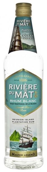 Riviere du Mat Traditional Blanc Rhum 0,7 Liter 40%
