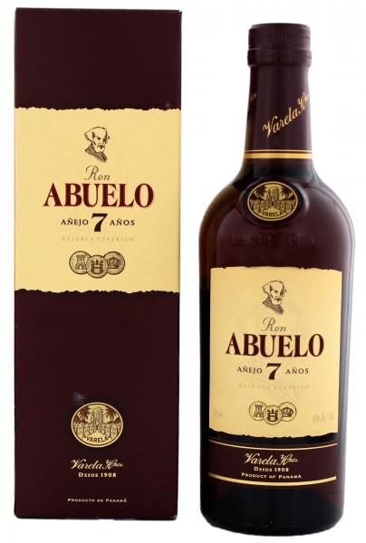 Abuelo 7YO Rum 0,7 Liter 40%