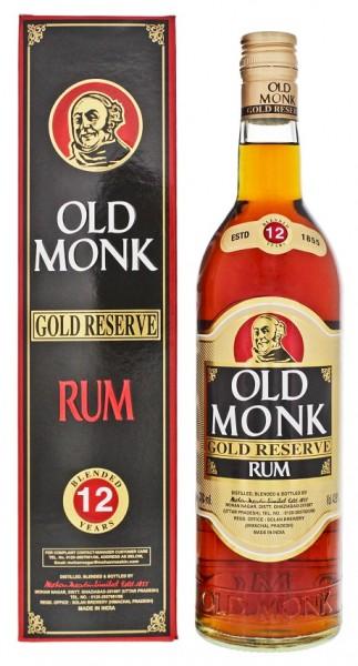 Old Monk 12YO Rum 0,7 Liter 42,8%