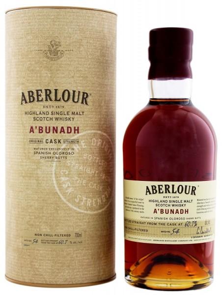 Aberlour a´bunadh Malt Whisky 0,7 Liter 60,7%