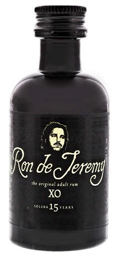 Ron de Jeremy XO Solera 15YO Rum 0,05 Liter 40%