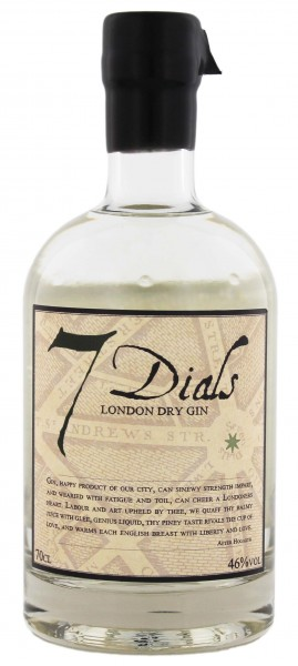 7 Dials London Dry Gin 0,7 Liter