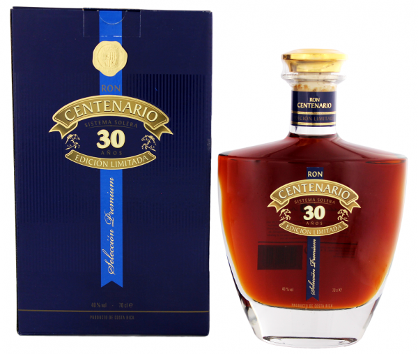 Centenario 30YO Edicion Limitada Rum 0,7 Liter 40%