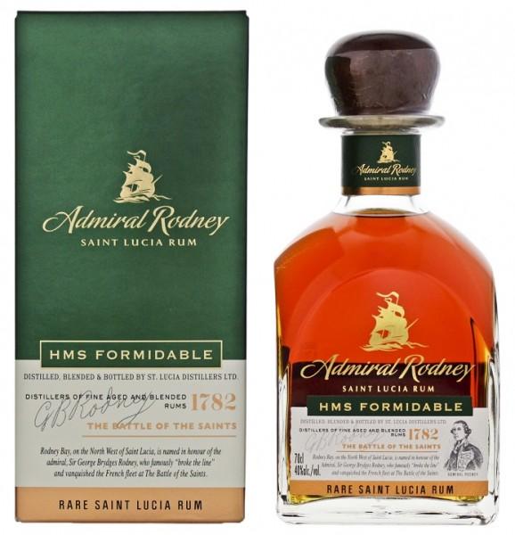 Admiral Rodney HMS Formidable Rare Rum 0,7 Liter 40%