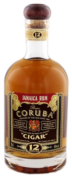 Coruba 12YO Cigar Rum 0,7 Liter 40%