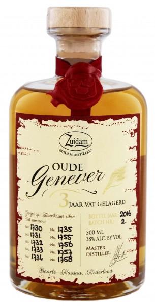 Zuidam Oude Genever 3YO 0,5 Liter 38%