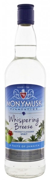 Monymusk Plantation Whispering Breeze Coconut 0,7 Liter 40%