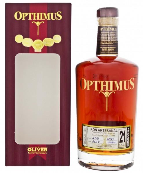 Opthimus 21YO Ron 0,7 Liter