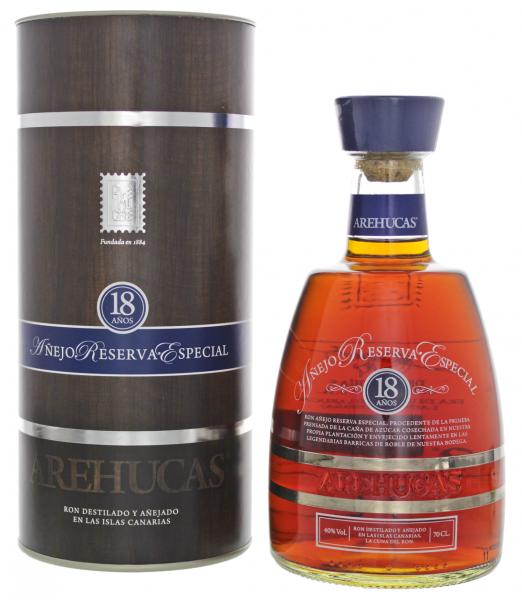 Arehucas 18YO Anejo Reserva Especial Rum 0,7 Liter 40%
