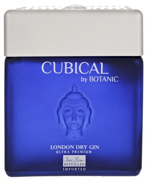 Cubical Ultra Premium London Dry Gin 0,7 Liter 45% (ehemals Botanic)