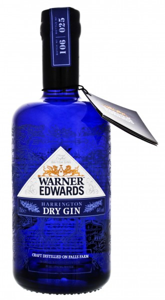 Warner Edwards Harrington Gin 0,7 Liter 44%