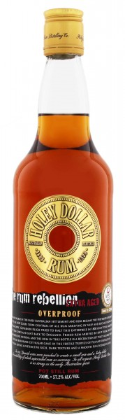 Holey Dollar Gold Overproof Rum 0,7 Liter 57,2%