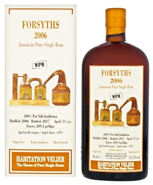 Habitation Velier Forsyths WP 2006/2017 Jamaica Pure Singel Rum 0,7 Liter 57,5%
