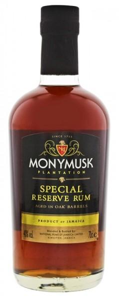 Monymusk Plantation Special Reserve Rum 0,7 Liter 40%