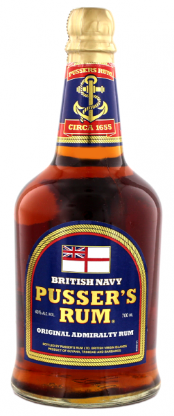 Pusser's British Navy Blue Label 0,7 Liter