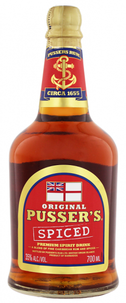 Pusser's Original Spiced 0,7 Liter