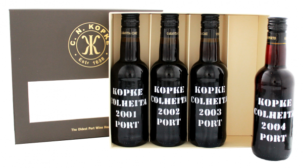 Kopke Port Degustationsset 4 x 0,2 Liter