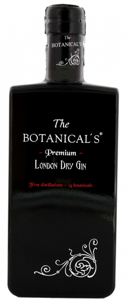 The Botanical's Premium London Dry Gin 0,35 Liter
