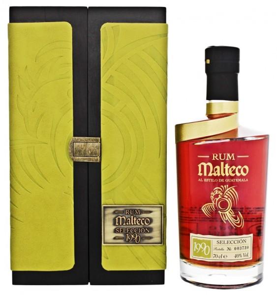 Malteco Seleccion 1990 Rum  0,7 Liter 40%
