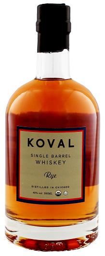 Koval Rye Whiskey Single Barrel 0,5 Liter