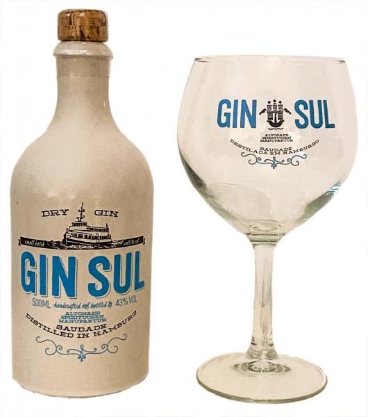 Gin Sul 0,5 Liter 43% inkl. Glas