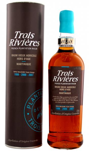 Trois Riviéres Triple Millesime Agricole Rhum 0,7 Liter 42%