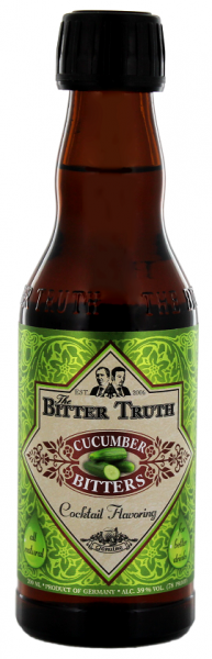 The Bitter Truth Cucumber Bitters 0,2 Liter 39%