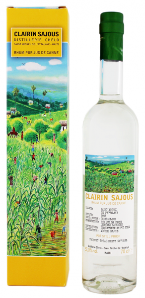 Clairin Sajou Rum 0,7 Liter 51%