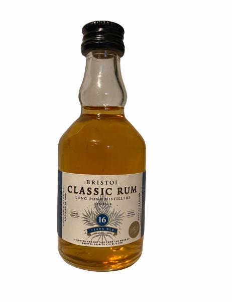 Bristol Classic 16YO (1986/2002) Long Pond Distillery Jamaica Rum 0,05 Liter 46%