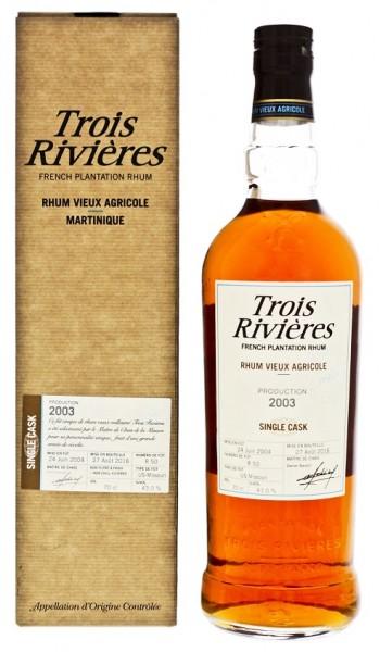 Trois Riviéres Vieux Millesime 2003 Agricole Rhum 0,7 Liter 43%