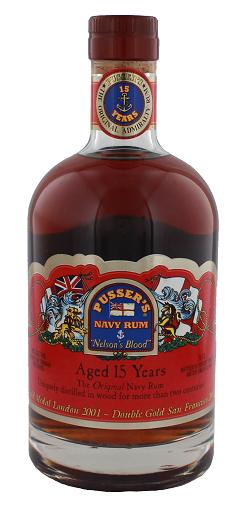 Pusser's 15YO Nelson's Blood Rum 0,7 Liter 40%