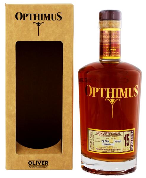 Opthimus 15YO Ron 0,7 Liter