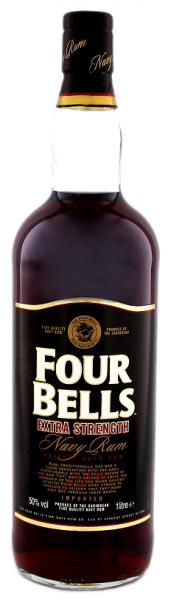 Four Bells Extra Strength Navy Rum 1 Liter 50%