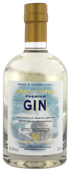 The Secret Treasures Ocean and Vulcano Gin 0,7 Liter 45,5%