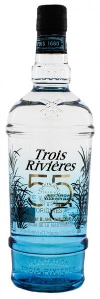 Trois Rivieres Blanc Agricole Rhum 0,7 Liter 55%