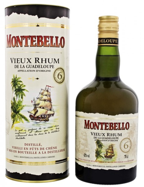 Montebello 6YO Vieux Rhum (GB) 0,7 Liter 42%