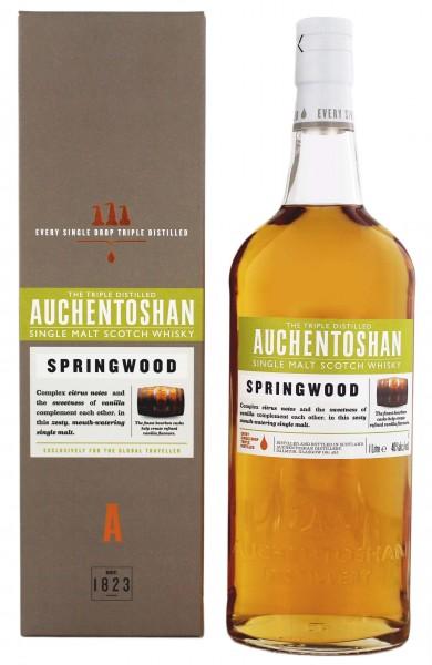 Auchentoshan Springwood Single Malt Whisky 1 Liter 40%