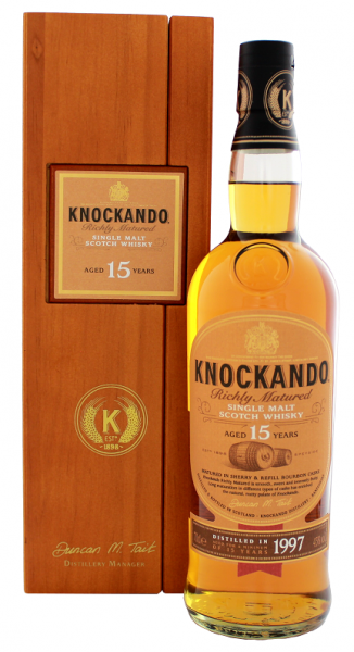 Knockando Richly Matured Single Malt Whisky 15YO 1997 0,7 Liter 43%