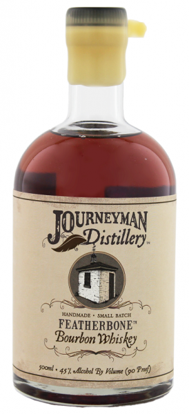 Journeyman Featherbone Bourbon Whiskey 0,5 Liter 45%