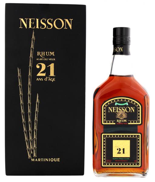 Neisson 21YO Vieux Agricole Rhum 0,7 Liter 45,3%