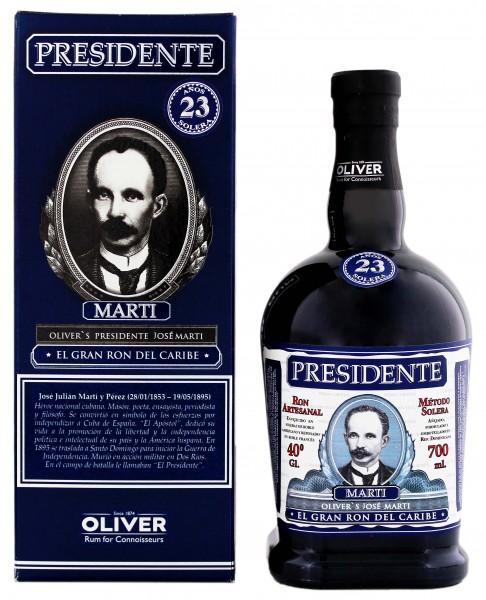 Presidente Marti 23YO 0,7 Liter