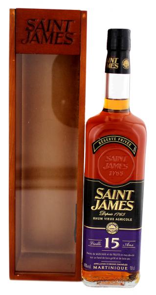 Saint James Vieux 15YO 0,7 Liter