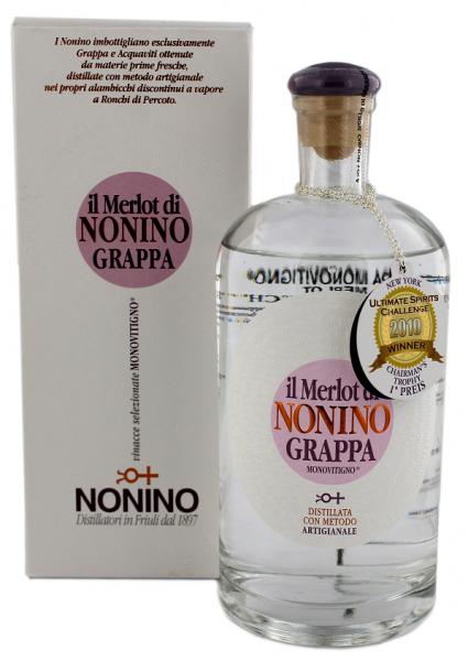 Nonino Grappa II Merlot 0,7 Liter