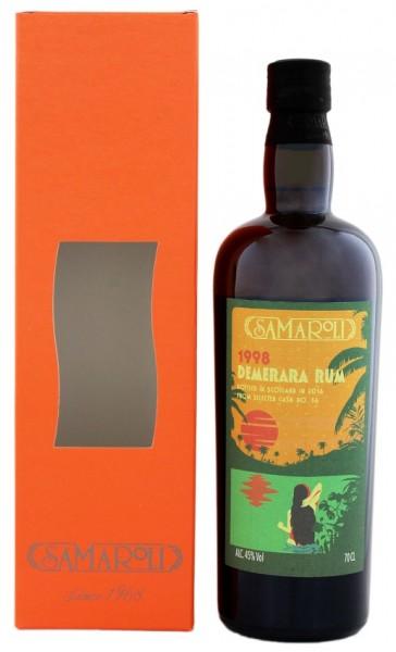 Samaroli Demerara Rum 1998/2016 0,7 Liter 45%