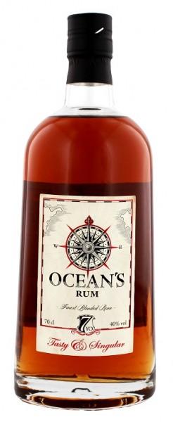 Ocean´s Rum Tasty 7YO 0,7 Liter