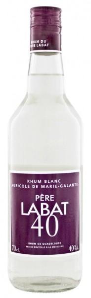 Pere Labat Blanc Agricole Rum 0,7 Liter 40%