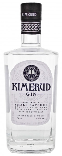 Kimerud Norway Craft Distilled Gin 0,7 Liter 40%